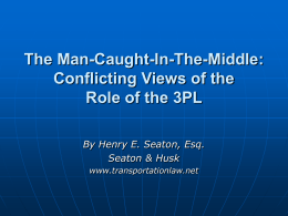 The Man-In-The-Middle: Conflicting Views of the