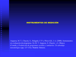 Procedimiento de construcción de un instrumento de