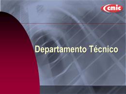 Departamento Técnico