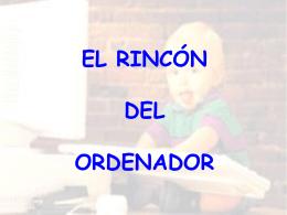 EL RINCÓN DEL ORDENADOR