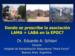 Fisiopatología temprana de EPOC