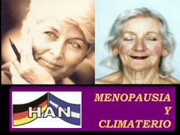 Menopausia y Climatério