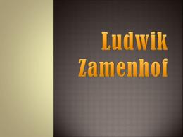 Ludwik Zamenhof - Zespół Placówek Oświatowych w