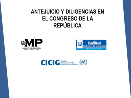 Diapositiva 1 - Ministerio Público de Guatemala
