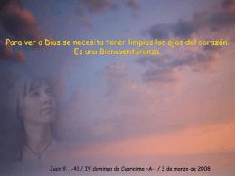 IV Cuaresma -A-