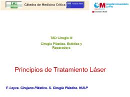 Principios de Tratamientos Láser