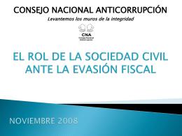 El rol de la sociedad civil ante la evasión fiscal