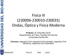 Física III (230010) clase 1