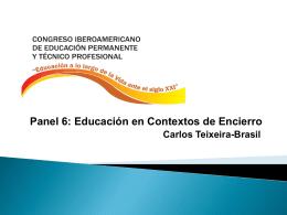 Panel 6: Educación en Contextos de Encierro