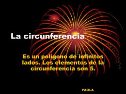 La circunferencia - BLOG DE MATEMÁTICAS DE 6º |
