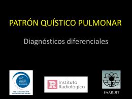 Patrón quístico pulmonar
