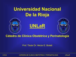 Alumbramiento y Puerperio Normal Dr. Hector