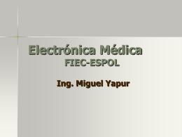 Electrónica Médica