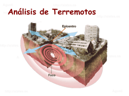 AG2- Analisis de terremotos