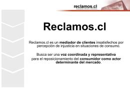Reclamos.cl