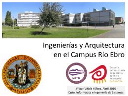 Ingeniería y Arquitectura en el Campus Río Ebro