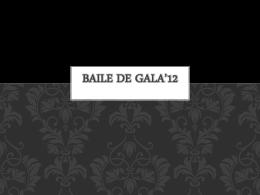 Baile de Gala'12