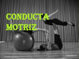 CONDUCTA MOTRIZ - Bases biológicas de la cognición