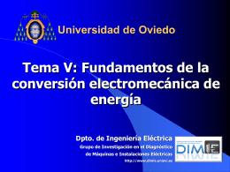 Curso de Máquinas Eléctricas 5º Curso Mecánicos