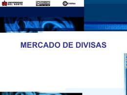MERCADO DE DIVISAS - DSpace Principal ::