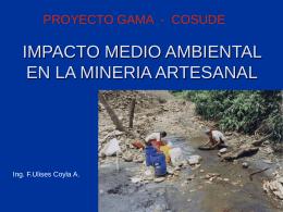 Experiencias y Compromiso Ambiental en Minería