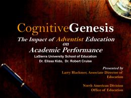 CognitiveGenesis - LarryBlackmer.com