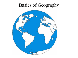 We are all bound by our geography. It helps