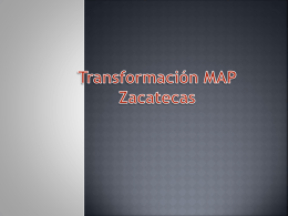 Transformación MAP Zacatecas
