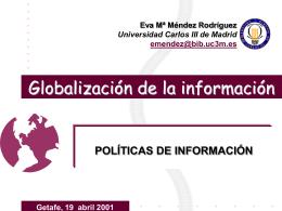 Globalización de la información