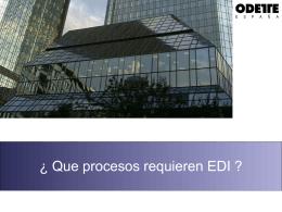 Diapositiva 1 - Bienvenido a Odette España