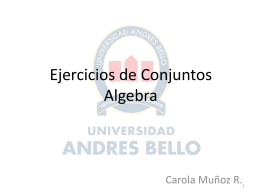 Ayudantía Nº 3 Algebra I fmm010