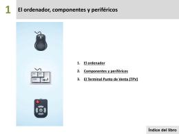 El ordenador, componentes y periféricos