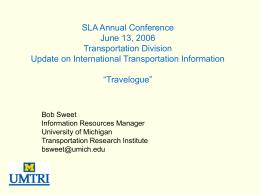 This is my talk - SLA