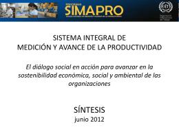 Diálogo Social y Productividad