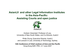 Challenges in improving access to Asian laws: the