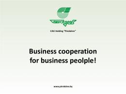 Geschaftliche Zusammenarbeit für Geschäftsleute!