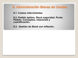 4. Administración del Capital Fijo y de Trabajo