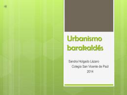 Urbanismo barakaldes