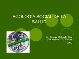 EVALUACIÓN ECOPSICOLÓGICA DE LOS ESTILOS DE VIDA