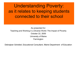 A Framework for Understanding Poverty by Ruby K.