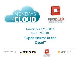 OpenStack BPlan