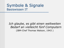 Symbole & Signale Basiswissen IT - mu-on