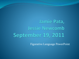 Jamie Pata, Jessie NewcombSeptember 19, 2011