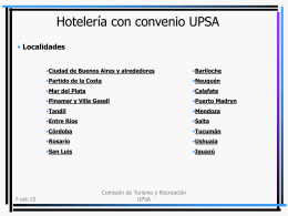 Presentación de PowerPoint - UPSA