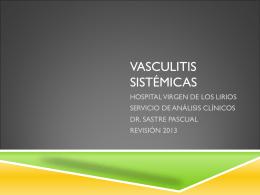 VASCULITIS SISTÉMICAS - Portal del Departament
