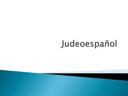 Judeoespañol