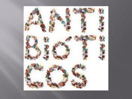 Antibióticos y Antibiograma