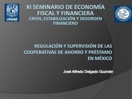 regulación y supervisión de las Cooperativas de
