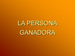A LOS GANADORES