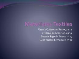 Materiales Textiles - La Gaya Ciencia Blog |